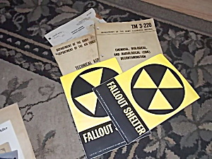2 Never Used Fallout Shelter Signs & More (Image1)