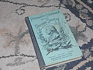 1893 Primary History Of The U.s. Book