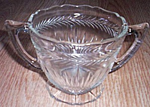 Jeannette Glass Sunburst aka Herringbone Sugar (Image1)
