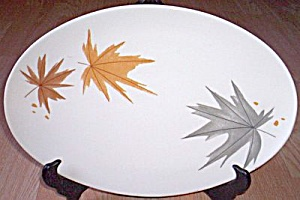 Iroquois Harvest Time Large Serving Platter (Image1)