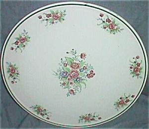 "Oriental Majolica 12"" Cake Plate (Image1)"