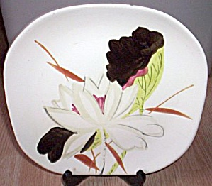 Red Wing Lotus Dinner Plate