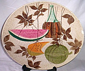 Rare Red Wing Tampico Dinner Plate (Image1)