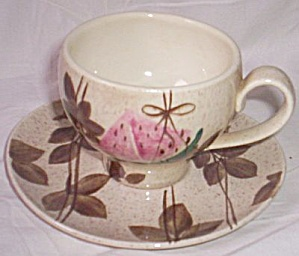 Red Wing Tampico Cup and Saucer (Image1)