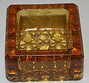 Antique Amber Individual Salt Cellar Dip (Image1)