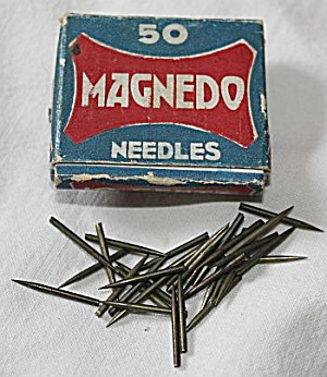 Magnedo Stereo Phonograph Needles In Box
