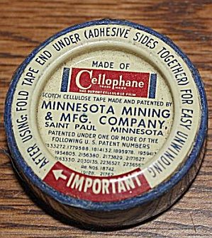Old Minnesota Mining Cellophane Tape (Image1)
