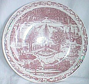 State of Louisiana Plate by Vernon Kilns (Image1)