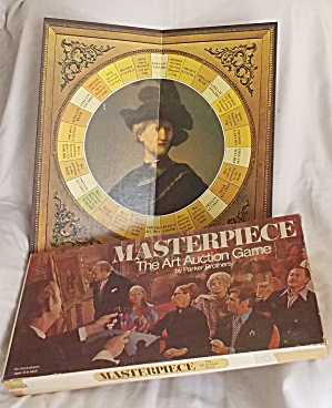 1970 Parker Brothers Masterpiece Board Game