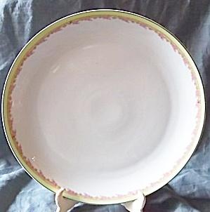 Z.S. & Co. Bavaria Chop Plate Floral Rim (Image1)