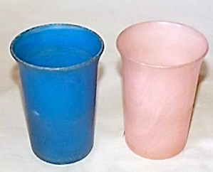 Pair Allied Plastic Juice Glasses