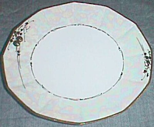 Rs Prussia Dessert Plate Pearl Luster Lustre
