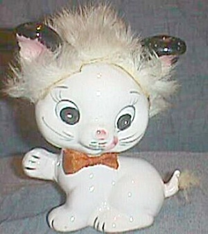 Vintage Napco Kitten Fur Head & Tail 5A-4213 (Image1)