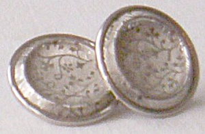 Button Earrings Marino (Image1)
