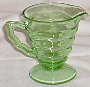 Jenkins Glass Creamer #190 Ocean Waves (Image1)
