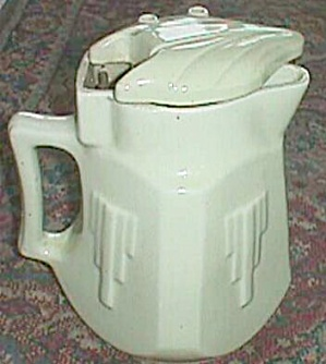 Art Deco Coffee Warmer