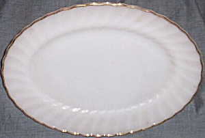 Fire King Golden Shell Platter (Image1)