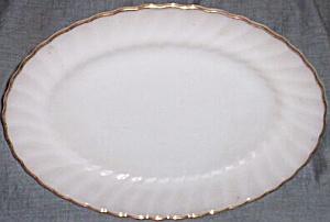 Fire King Golden Shell Platter (Image1)
