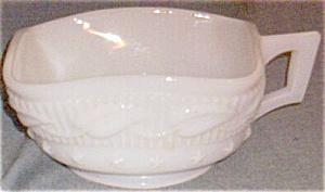 Fostoria Wistar Betsy Ross Milk Glass Nappy (Image1)