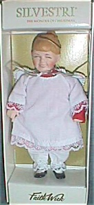 Faith Wick Wonder of Christmas Ornament Doll Choir Girl (Image1)