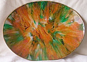 Retro 60's Lacquered Fruit Bowl (Image1)