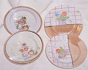 6 Porcelain Child's Plates (Image1)