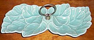 California Pottery Double Leaf Nut Dish (Image1)
