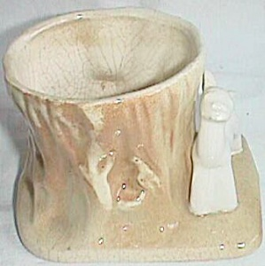 Shawnee? Fawn by Stump Planter (Image1)