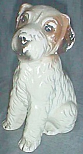 Vintage Wire Hair Terrier Still Bank Enesco (Image1)