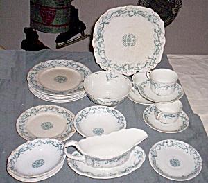 22 Piece Set J&G Meakin Jackson  1907-1912 (Image1)