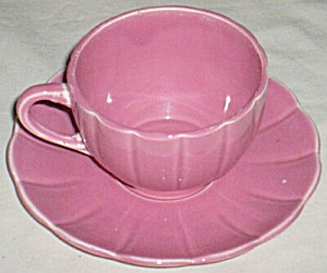Pink Petal Large Cup and Saucer (Image1)