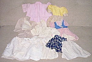 Lot Vintage Doll Clothes Larger Doll (Image1)