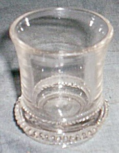 U.s. Glass Toothpick Holder Washington