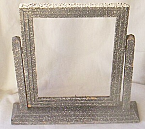 30's 6 X 8 Wood Free Standing Picture Frame