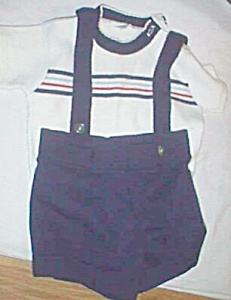 Vintage Knit Infant 2 Piece Jumper (Image1)