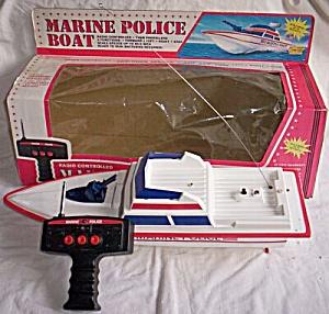 RC Marine Police Boat (Image1)
