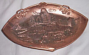 Vintage Montana Copper Trinket Dish (Image1)