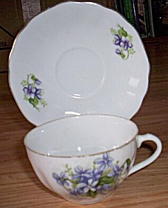 Nippon Yoko Boeki Co. Antique Porcelain Cup And Saucer
