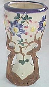 Vintage Majolica Branch Vase (Image1)