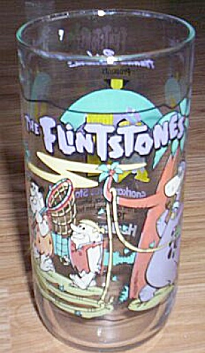 Flintstones 1st 30 Years Glass The Snorkasaurus  Story (Image1)
