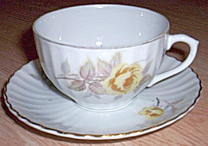 Nippon Yoko Boeki Co. Cup and Saucer (Image1)