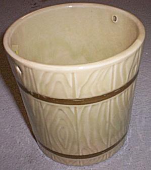 "Hull Pottery 5""  Bucket Planter (Image1)"