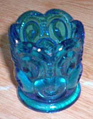 Smith Glass Blue Moon and Stars Toothpick (Image1)