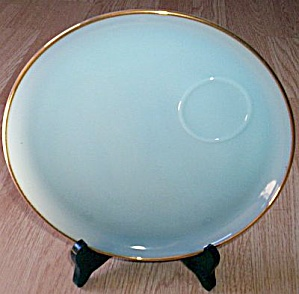 Fire King Turquoise Blue Snack Plate (Image1)
