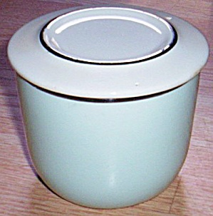 Universal Pottery Pastel Blue Canister