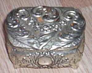 Vintage Silvertone Ring Box (Image1)