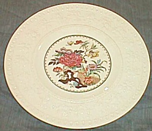 Wedgwood Salad Plate Wellesley Bullfinch Pattern Ca 1930 Free Shipping