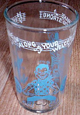 Howdy Doody Jelly Glass Make You Strong Free Shipping