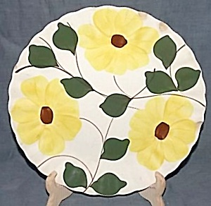 Blue Ridge Pottery Ridge Daisy Dinner Plate (Image1)