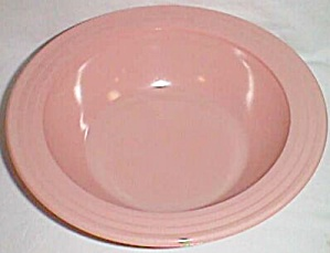 Hazel Atlas Moderntone Pink Serving Bowl (Image1)